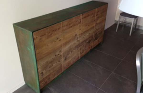 peinture effet vert de gris pour une apparence vert de gris r aliste. Black Bedroom Furniture Sets. Home Design Ideas
